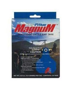 Python Magnum Insecticide Ear Tags (100 Count)