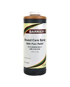 Barrier II Wound Care Spray w/Pain Relief 32 oz.