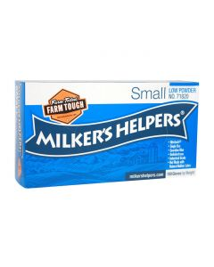 Milker's Helpers Nitrile PF Gloves [Small] (100 Count)