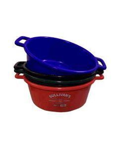 Plastic Feed Pan [22 Quart] (Red)