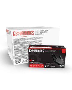 GloveWorks® Nitrile Gloves [Medium] (100 Count)