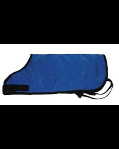 "E & R Calf Blanket Blue 26""L X 29""W"