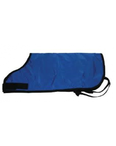 "E & R Calf Blanket Black 32""L X 35"""