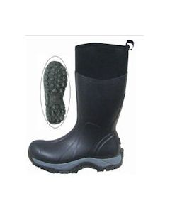 "Reed Men's 16"" Glacier Black Boot [Size 12]"