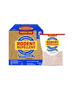 Fresh Cab All Natural Rodent Repellent Pak (4 Count)