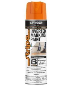 Seymour® Inverted Marking Paint [Fluorescent Orange] (17 oz.)