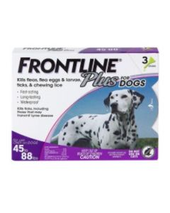 Frontline Plus for Dogs [45-88 lbs.] (3 Count)