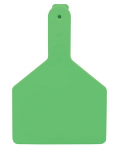 Z-Tag Cow Blank [Green] (100 Count)