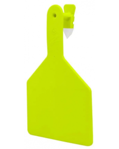 Z-Tag Cow Blank [Chartreuse] (25 Count)
