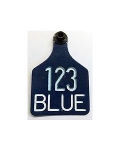 Ritchey Blank Universal Tags [Blue Tag/White Core] (25 Count)