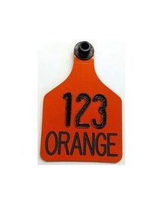 Ritchey Blank Universal Tags [Orange Tag/Black Core] (25 Count)