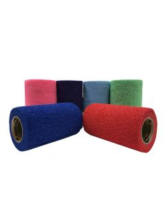 """Cattle Wrap 4"""" Color Pack 100 Count"""