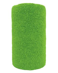 """Cattle Wrap 4"""" Neon Green 100 Count"""