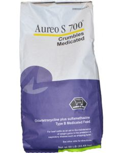 Aureo S 700 3.5G Crumbles 50 lb. - VFD Required