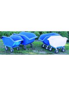 """Feed Cart 14 Bushel w/ 10"""" Wheel"""