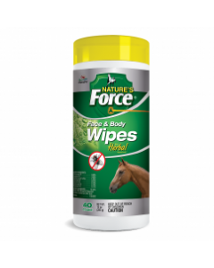 Natures Force Face & Fly Body Wipes