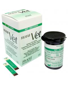 Nova Vet Ketone Test Strips 25 Count
