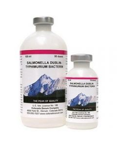 Salmonella Dublin-Typhimurium Bacterin 100 mL (50 Doses)