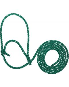 Cattle Rope Halter Poly Green