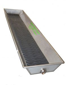Foot Bath - Stainless Steel w/ Mat 10'