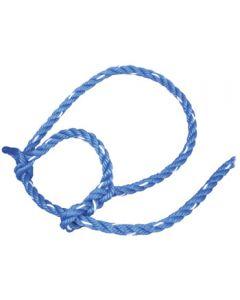 Cow Poly Blue 13' Halter [Blue]