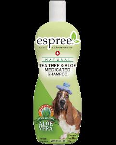 espree Tea Tree & Aloe Medicated Dog Shampoo 20 oz.