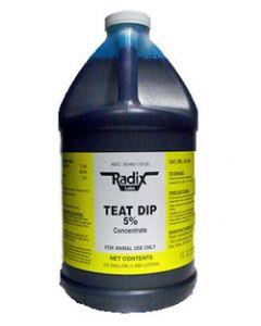 Chlorhexidine Teat Dip 5% - 1/2 Gallon
