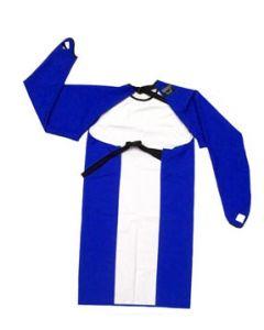Sleeved Apron - Waterproof Large Blue