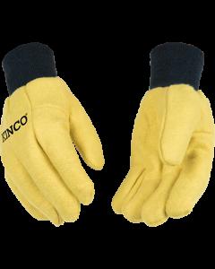 Kinco 816 Yellow Chore Glove 16 oz. Large